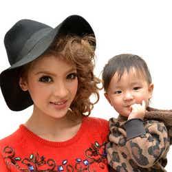 「I LOVE mama」専属モデルの孫きょうと息子の蓮凰(れおくん)