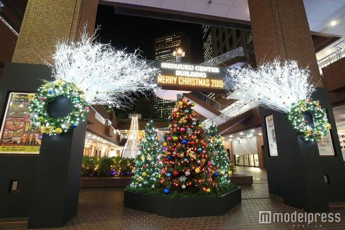 新宿センタービル・B1Fメインディスプレイ※写真は2015年のイルミネーション/画像提供:西新宿街ぐるみプロジェクト