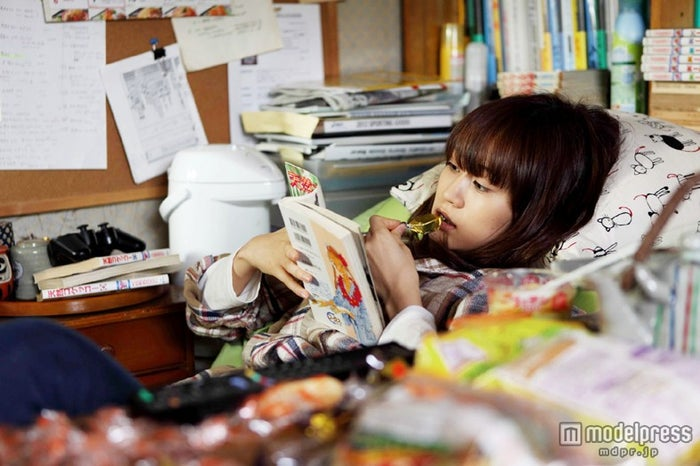 前田敦子/映画「もらとりあむタマ子」の場面カット(c)2013『もらとりあむタマ子』製作委員会