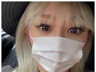 倖田來未、子供用マスクを間違えて着用するも違和感なし 「顔小さすぎ」と驚きの声