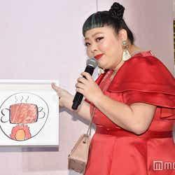 渡辺直美がデザインした家紋 (C)モデルプレス