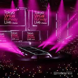 「Tokyo Virtual Runway Live by GirlsAward」(C)Tokyo Virtual Runway Live by GirlsAward(C)AbemaTV, Inc.