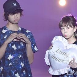 平松可奈子&M!LK佐野勇斗、お揃いコーデのカップルランウェイに観客興奮