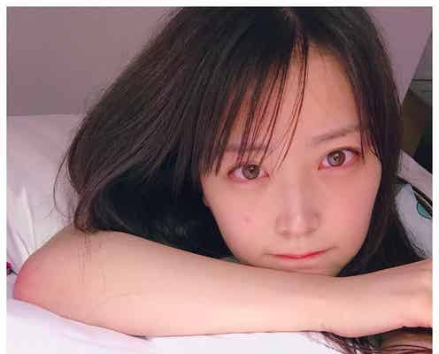 NMB48白間美瑠、おやすみショットに「すっぴん可愛すぎ」「ドキッとした」と注目集まる