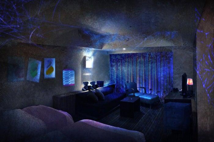 「PLAY ~少女の招く部屋~」ホラールームイメージ/画像提供:ホテル ユニバーサル ポート