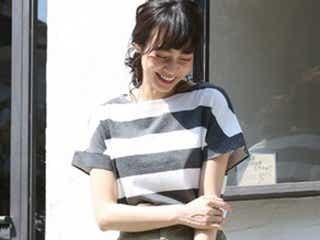 """新鮮なコーデになる予感!2018夏は""""太ボーダー""""Tシャツがアツい"""