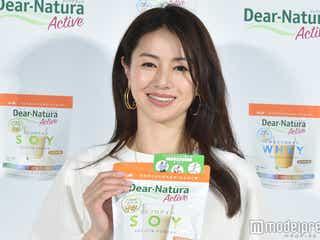 井川遥、女性らしい肉体美に手応え 10代後半からやってきたこと明かす