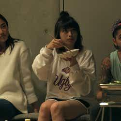 夏美、理子、アーマン『TERRACE HOUSE BOYS & GIRLS IN THE CITY』31st WEEK(C)フジテレビ/イースト・エンタテインメント