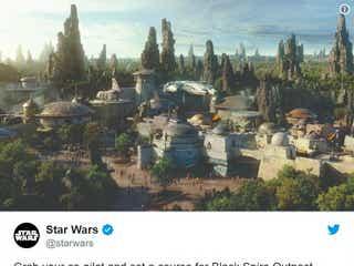 米ディズニー「スター・ウォーズ ランド(Star Wars:Galaxy's Edge)」の最新イメージ映像公開 2019年夏オープン予定