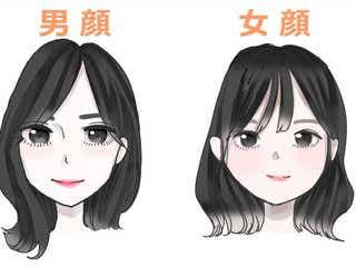 あなたは男顔or女顔?【顔タイプ別】美人見えメイク