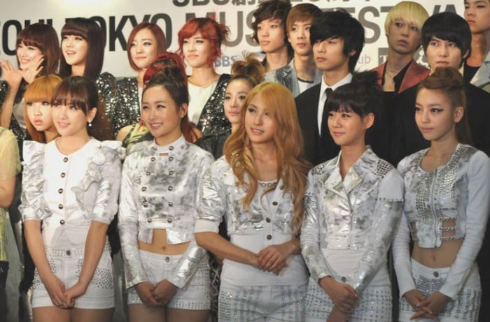 KARA(SBS創立20周年 SEOUL TOKYO MUSIC FESTIVAL 2010より)