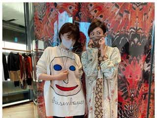 山田優&ヨンア、久々2ショットでスラリ美脚披露「オーラがすごい」と反響