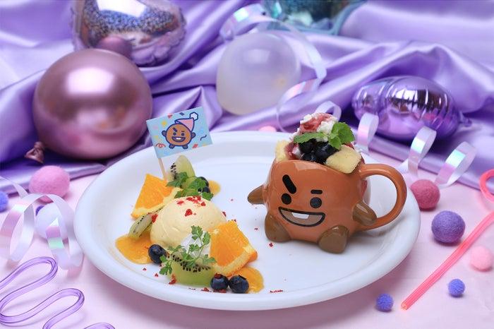 DESSERTプレートケーキ (チーズケーキ) 1,290円(C)BT21