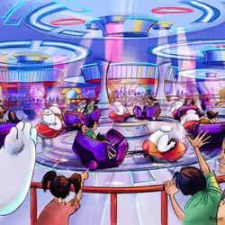 ベイマックスのハッピーライド※写真はイメージ(C)Disney