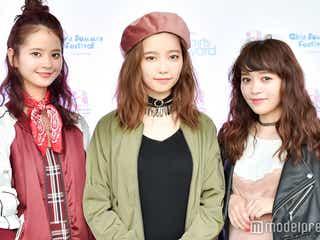"""AKB48島崎遥香""""初ランウェイ""""後を直撃!夏のファッション、ヘア、マイブーム"""