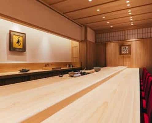 銀座に誕生した新しき鮨の名店。洗練された空間で握りを愉しむ、極上のひととき