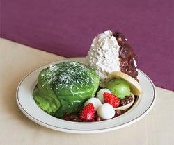 エッグスンシングス、京都限定「宇治抹茶パンケーキ」が国内全店舗に登場