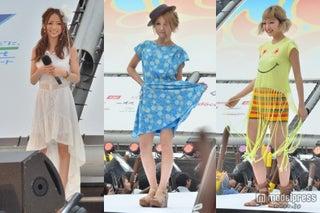 人気ギャルモデル、華やかランウェイに集結「沖縄国際映画祭」でファッションショー