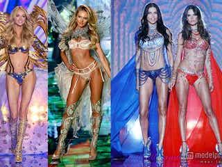 豪華ランジェリーモデル集結「ヴィクトリアズ・シークレット」ファッションショー テイラー、アリアナもスペシャルパフォーマンス<写真特集>