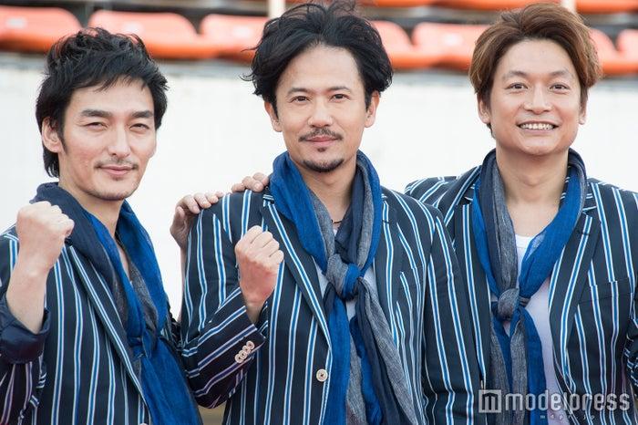 草なぎ剛、稲垣吾郎、香取慎吾(C)モデルプレス