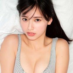 「ミスマガジン」大槻りこ、色っぽい表情で魅せる健康的な美ボディに釘付け