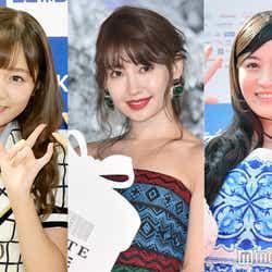 今年で卒業を発表している多田愛佳、小嶋陽菜、上西恵 (C)モデルプレス