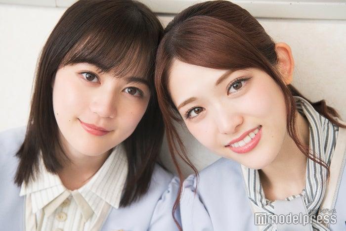 """モデルプレスのインタビューに応じた、""""からあげ姉妹""""生田絵梨花&松村沙友理(C)モデルプレス"""
