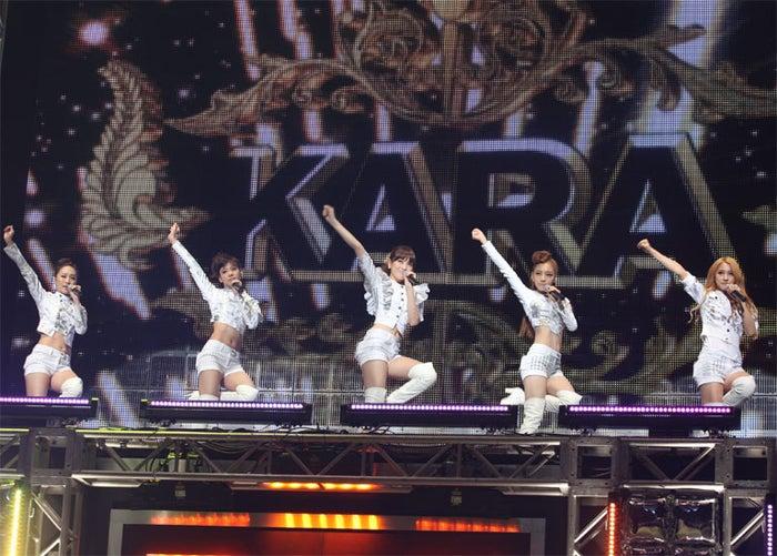 KARA(SEOUL TOKYO MUSIC FESTIVAL 2010より)