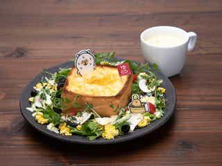 「喫茶自分ツッコミくまCAFE&BAR おかわり!!」新作パフェやグラタントースト増えパワーアップ