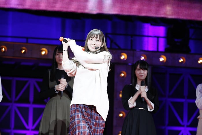 """田村真佑/乃木坂46""""4期生お見立て会""""(提供写真)"""