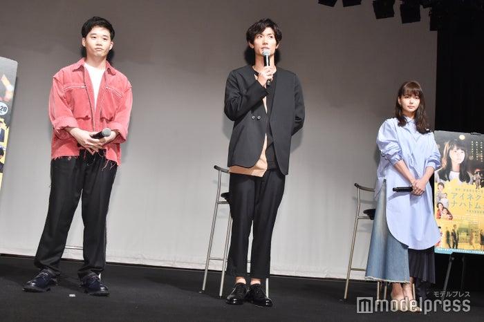 (左から)矢本悠馬、三浦春馬、多部未華子(C)モデルプレス
