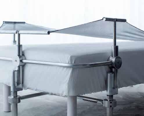 """AI搭載の""""枕""""でぐっすり眠れる!寝姿勢にあわせて自動調整する""""ハンモック構造""""で首や頭にフィット"""