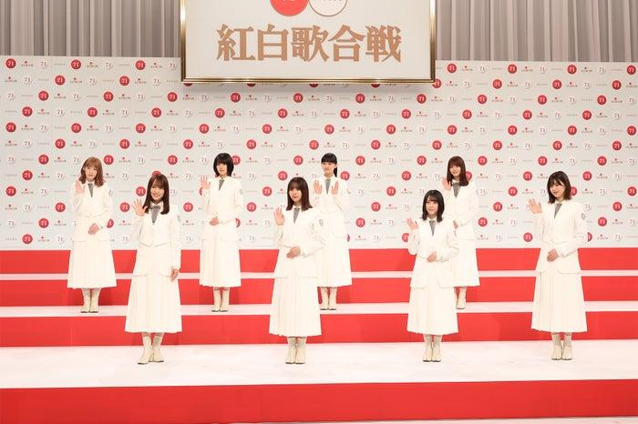 櫻坂46「第71回紅白歌合戦」出場歌手発表記者会見(C)NHK