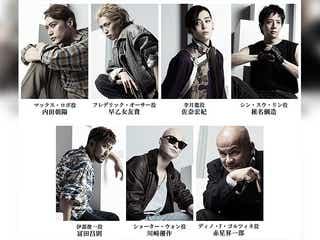 「BANANA FISH」The Stage 、椎名鯛造・佐奈宏紀ら7人のキャラビジュアル公開