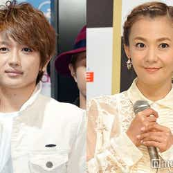 「FNS歌謡祭」でコラボレーションした西島隆弘と華原朋美 (C)モデルプレス