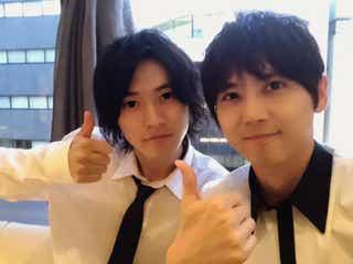 山崎賢人&梶裕貴、「二ノ国」仲良しコンビ2ショットにファン歓喜