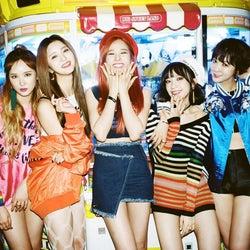 大型K-POPガールズグループ「EXID」日本デビュー決定