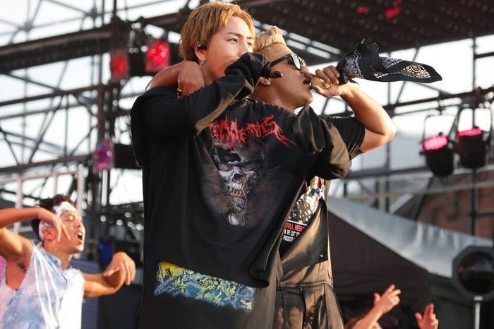 PKCZ(R)×「HiGH&LOW」がコラボ 登坂広臣&ELLYらEXILE TRIBE集結<セットリスト>/PHOTO:山内洋枝