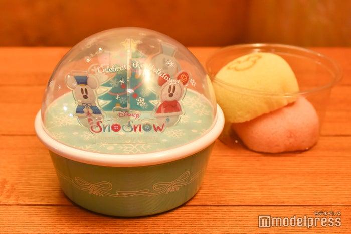 カスタードケーキ(あずき&ストロベリー)、スーベニアケース付き¥980 (C)モデルプレス(C)Disney