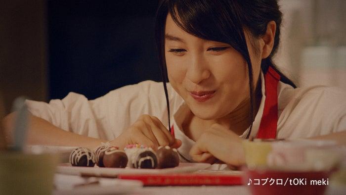 土屋太鳳出演「予想外に自転車」篇