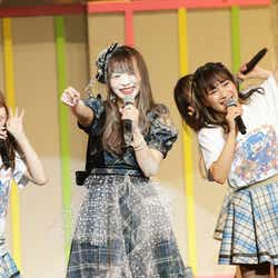 """モデルプレス - """"SKE48の異端児""""松村香織、卒コンで落とし穴に落下 異例の演出続々<SKE48松村香織卒業コンサート~これで終わると思うなよ?~/セットリスト>"""
