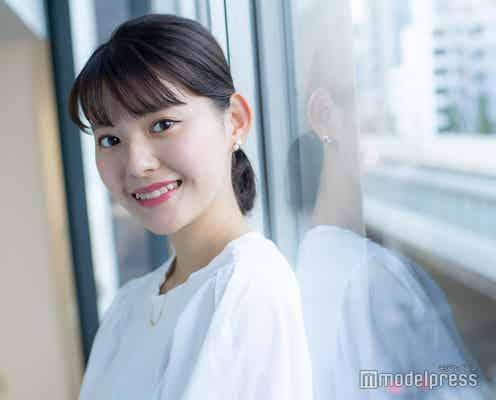 """「ミス学習院」ファイナリスト・野口莉子さん、憧れは高橋愛 涙ぼくろがポイントの""""遠泳""""助手の素顔"""