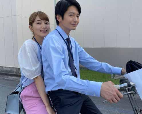「着飾る恋」川口春奈&向井理、2人乗りショットに胸キュン「どういう展開?!」驚く声も