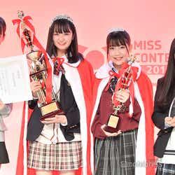 「JCミスコン2020」受賞者/審査員特別賞・kokoneさん、グランプリ・りおさん、準グランプリ・るあさん、モデルプレス賞・あやさん(C)モデルプレス