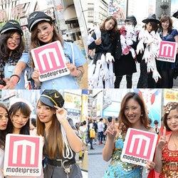 <ハロウィン>大阪女子、道頓堀で大量仮装乱舞
