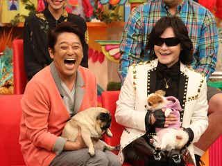 "X JAPAN・Toshl、愛犬とテレビ初共演 ""プレゼント""で熱唱も"