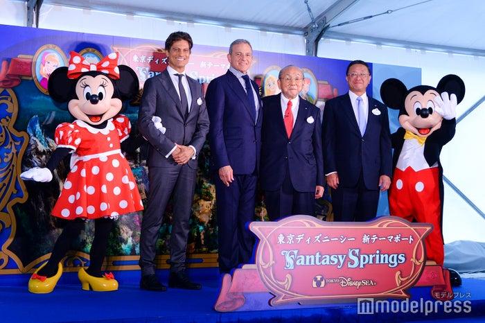 2019年5月に実施された「東京ディズニーシー大規模拡張プロジェクト」セレモニーより(C)モデルプレス(C)Disney