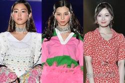 桐谷美玲、中条あやみ、白石麻衣(C)モデルプレス