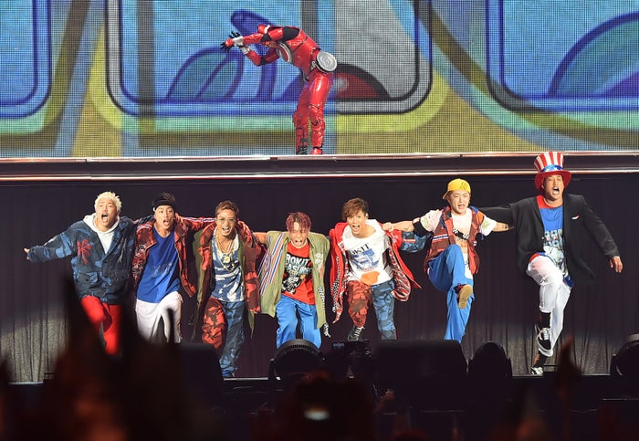 """GENERATIONS from EXILE TRIBE/「GENERATIONS LIVE TOUR 2018""""UNITED JOURNEY""""」最終公演より(提供写真)"""