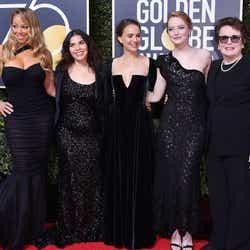 マライア・キャリー、アメリカ・フェレーラ、ナタリー・ポートマン、エマ・ストーン、ビリー・ジーン・キング/photo:Getty Images